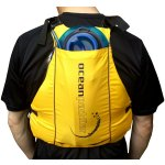 Back View with Hydration Bladder (Not Included)